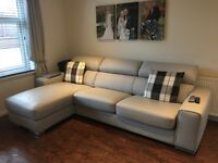 DFS leather sofas only 6months old
