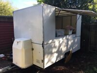 Catering food trailer/caravan for burgers, hod dogs, tea/coffee sandwiches etc