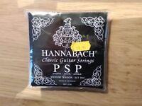 Hannabach Classic Guitar Strings - polished (medium)