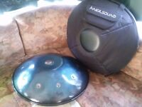 Caisa Handpan Cosma (D-moll / D-minor) Hang Drum Alternative Steelpan