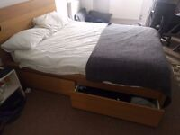 Free Double Beds, shelves , dining table and desks