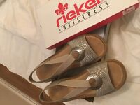 Beautiful Reiker ladies sandals size 6