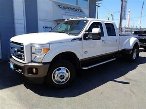 2016 Ford F-350 King Ranch FX4 Crew Dually, Diesel, Nav, Sunroof