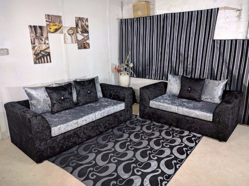 Best Bargain Ever,best Quality Sofa In Every Ones Reach ,dylan Corner  Crushed Velvet