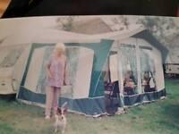Classic bradcot active caravan awning