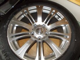 Brand New Riva MVR Alloy, and Brand New Tyre. 225x55x17