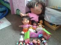 Dora the explorer toy bundle