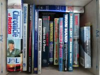 Bundle of fourteen (14) books on Space and Military Aviation