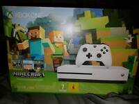 Xbox One S (boxed & like new) with 7 games and controller