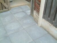 """18""""x18"""" (450mmx450mm Approx ,35mm Thick ), New & unused Paving Flags/Slabs."""