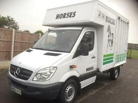 Horsebox Mercedes sprinter 2010 forward facing 2 horses/ponies excellent condition as new