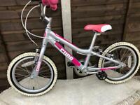 """Girls Cuda blox bike 16"""" wheels"""