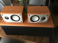 Mordant-Short centre and rear speakers