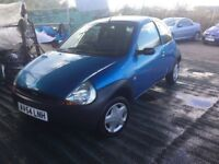 54 REG FORD KA LOW MILEAGE 54000 FROM NEW NICE CLEAN CAR LOVELY DRIVER IDEAL FIRST CAR ANY TRIAL VGC