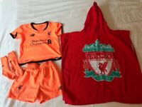 Toddler Liverpool FC Shorts / T-shirt / Socks / Hooded-Towel (18-24 months)