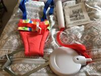 Lindam jump about plus baby bouncer