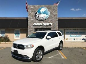 2015 Dodge Durango LIMITED ONLY 38, 000KM! FINANCING AVAILABLE!
