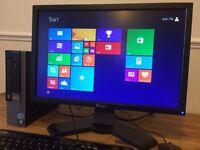 Dell Optiplex 790 / i5 Quad Core PC/ 8 GB Ram + DELL Wide Screen / Desktop PC Computer with Office