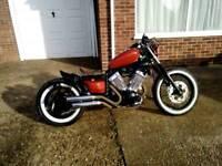 Yamaha xv 535 bobber