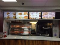 SALE FOR CHICKEN SHOP(EAT IN &TAKE AWAY) VERY BUSY AREA NICE LOCATION .