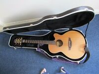 Guitar semi acoustic Takamine