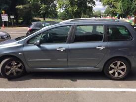 Peaugot 307 SW 1.6 5 door 7 seater car for sale