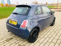 FIAT 500 0.9 TWINAIR 3d 85 BHP START PAYING IN 2018!! (blue) 2012