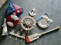 Nautical themed boys bedroom accessories