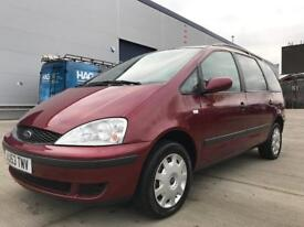 FORD GALAXY 2003 1.9 TDI LX 5DR, NEW MOT, SEVEN SEATER