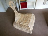 Wicker Chair Occasional Decorative Chair