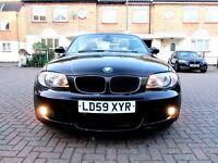 BMW 118D M SPORT CONVERTIBLE AUTOMATIC 2 DOOR HPI CLEAR 2 KEYS EXCELLENT CONDITION