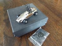 Philippi Speedy Race Car Magnetic Paper Clip Holder