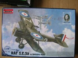 Model Aeroplane Kit - Wolseley Viper- NEW and unused