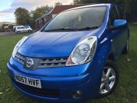 \\\ 57 REG NISSAN NOTE ACENTA \\\ IMMACULATE \\\ ONLY £1499 ,,