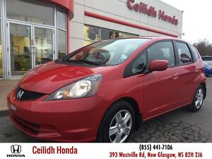 2013 Honda Fit LX (M5) Local Low Kms