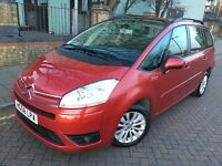Citroen C4 Picasso 2008 (58reg) Automatic, Diesel,New one year PCO & MOT, 7 Seats MPV, Sharan,galaxy