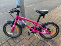 Pink Frog Bike 48 for Girls