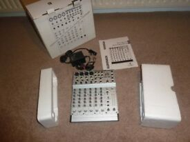 Behringer Eurorack MX 802A 8 track analogue mixer.