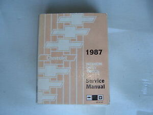 GM-MEDIUM & HEAVY TRUCK SERVICE MANUALS 1973 & 1987