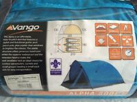 VANGO ALPHA 300 2-3 PERSON TENT AS NEW EXTRA WATER RESISTANT QUALITY HAS FRONT SECTION VIEW PHOTOS