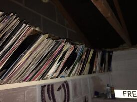 "Job Lot of Approx. 800 12"" Vinyl Records (Pot Luck - Eclectic mix, Various conditions!) EVERY GENRE!"