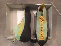 Asolo rock climbing shoes