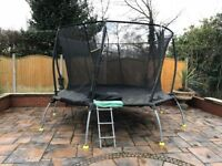 12ft Trampoline by TP. Good Condition and Very Safe.