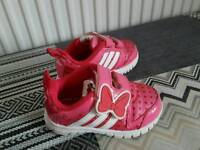 Adidas Minnie Mouse trainers size 5