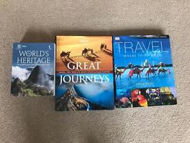 Three interesting travel books