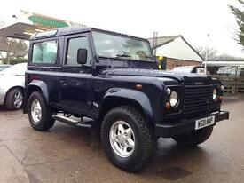 Land Rover Defender County Station Wagon Td5 (blue) 2000