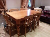 Country Kitchen Table and Chairs, £175 ONO