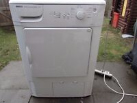 beko condenser air dryer like new with brand new heater element fitted