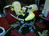 Icoo Pushchair Trio Baby 3 Piece Travel System RRP £530