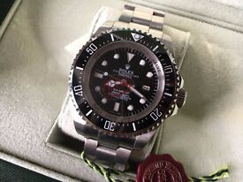 New Swiss Rolex DeepSea Dweller Automatic Watch